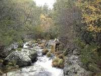 Gå genom Sotillo de Sanabria.