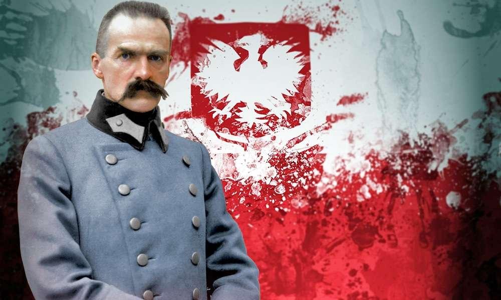 Regain independence - Marshal Józef Piłsudski (8×5)