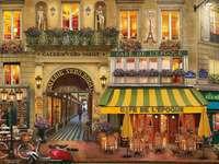 Stadt der Liebe - Paris, Straße, Gebäude, Transportmittel
