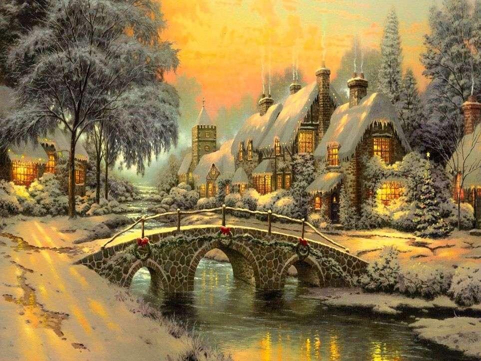 Pintura de navidad (13×10)