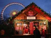 Weihnachtsmarkt Glühmarktstand