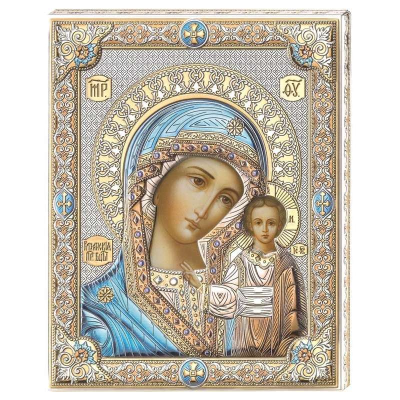 Mother of God, protector of children - The Mother of God is the salvation of people, the joy of children and the wisdom of the future (8×8)