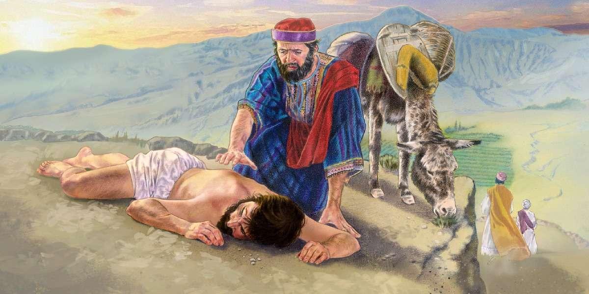 Bom Samaritano, seguindo a Cristo - Deus pede misericórdia, assim como gostaríamos de receber (10×5)