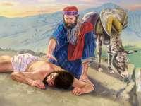 Barmhartige Samaritaan, Christus volgend