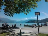The pretty lake of Annecy - A beautiful summer day by the lake