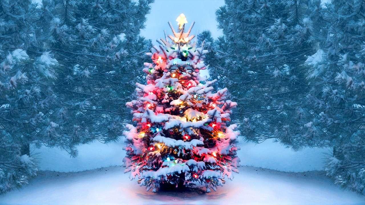 Karácsony kirakós játék