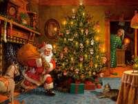 Ζωγραφική Χριστουγέννων