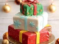 Ένα ειδικό χριστουγεννιάτικο κέικ