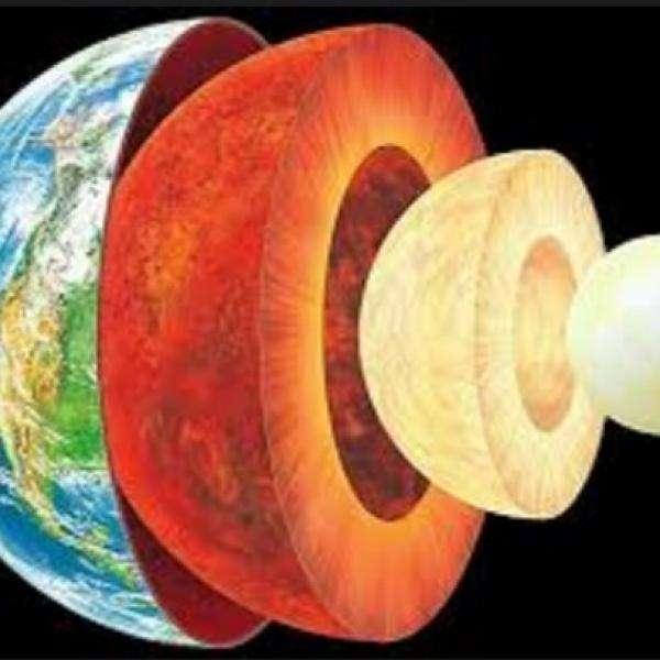 Слоеве на Земята - Здравейте, момчета, тук ви оставям пъзел от земните пластове (10×10)