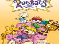 Rugrats animerade serier täcker konst - Det är en animerad serie med fem äventyrssökande barn