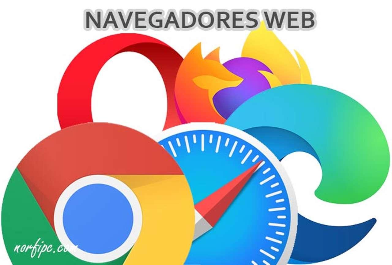 internetové prohlížeče - Loga webového prohlížeče (8×6)