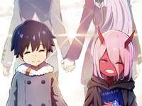 Querida na franxx - Um anime muito bom, com um final muito triste