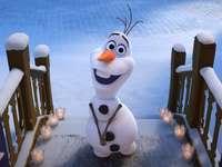 Leg de puzzel uit! - Olaf wil je van harte feliciteren! :)