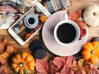 Herfst koffie