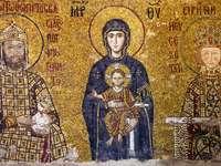 Byzantská mozaika