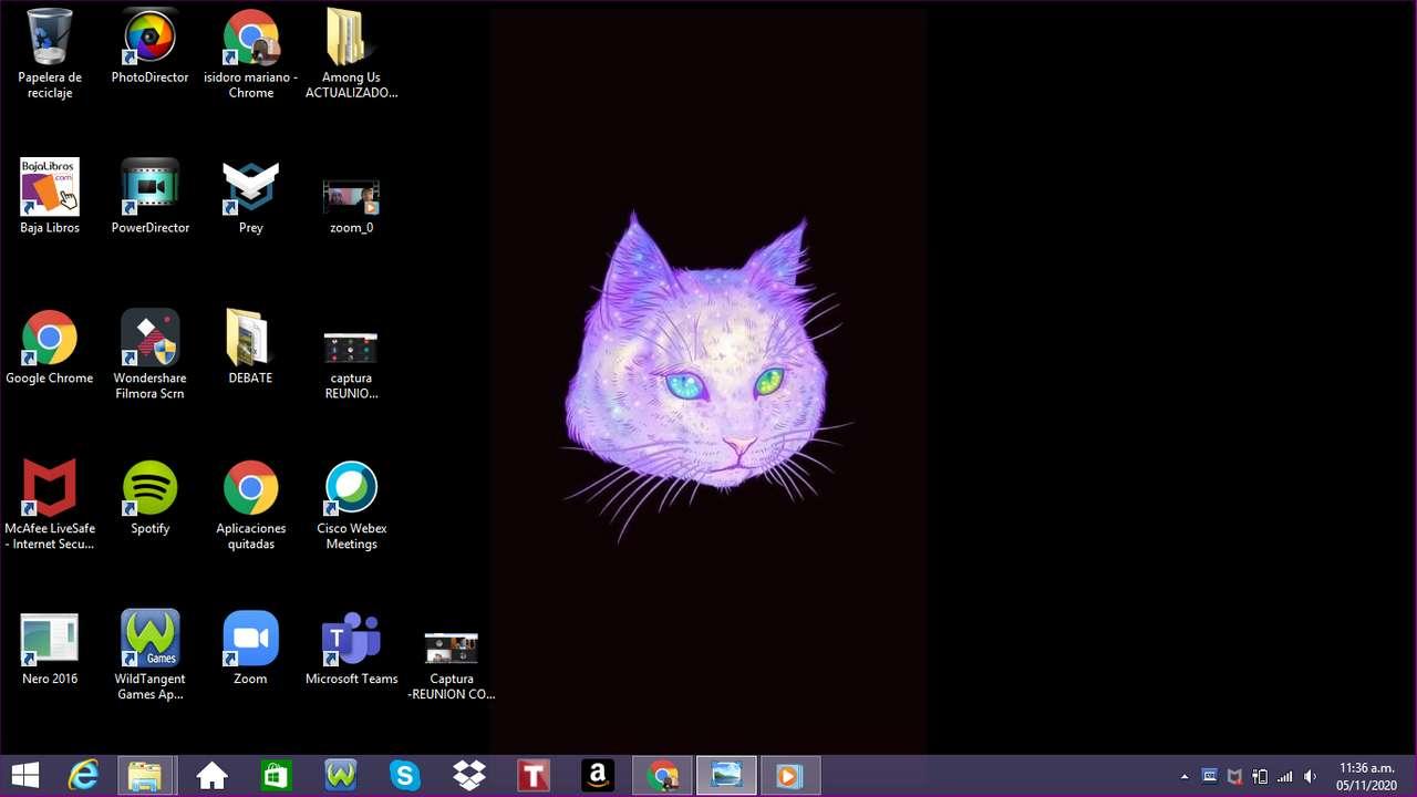 interesant - pisica cu fundal de spațiu arată bine :) (8×5)
