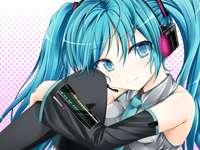 Hatsune Miku - Un chanteur japonais d'anime hologramme