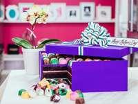 Κουτί με σοκολάτες - Κουτί σοκολατάκια για την ημέρα της μητέρας