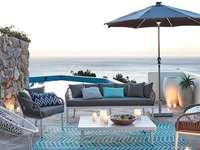 tengerparti ház - Tengerparti ház terasszal