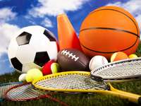Sports- gear - Arrange and see what sports are related to the items shown in the picture