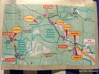 Laufende Karte