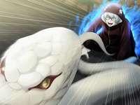 Kabuto yakushi - Modo Sábio em sua última transformação, dragão