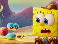 sponge Bob - We can see Bob and Gary as babies