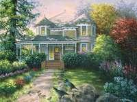 Festőház az országban