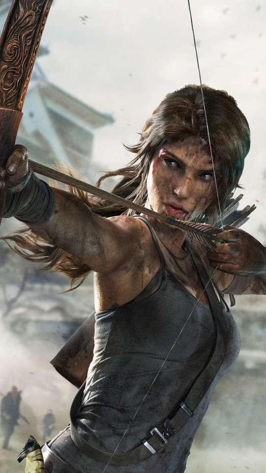 Lara Croft: film e giochi puzzle online
