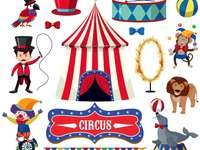 Membros do circo - Imagens dos membros do circo