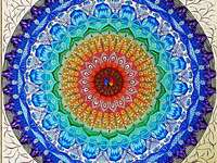 Mandala in many colors - Mandala in many colors