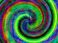 Spiraal in verschillende kleuren