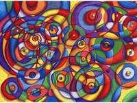 Pintura arte abstrata