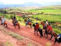 Heliga dalen av Incas-Peru