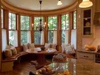 Lounge im viktorianischen Stil