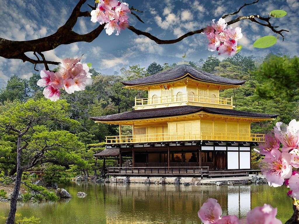 Japonia - Układanka krajobrazowa (14×11)
