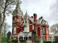 viktoriánus stílusú ház