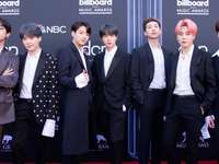 BTS do grupo k-pop