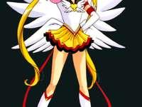 Sailor Moon - Sailor Moon; παζλ