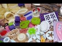 Molde para bolo - molde de bolo de vídeo no canal YouTube: Ilyana Gateaux
