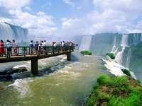 водопад в Перу