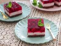 tort de zmeură