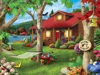 Къща до езерото