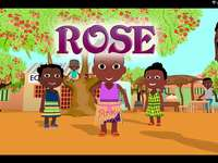 Rose and her friends - Rose the little girl of the African continent