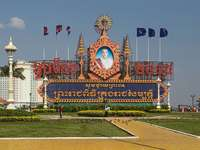 Phnom Penh - Phnom Penh (Khmer: ភ្នំពេញ, trl. Phnum Pénh) - la capitale della Cambogia situata nel
