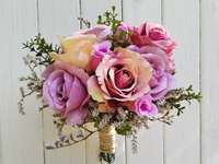 bouquet of flowers - bouquet of artificial flowers
