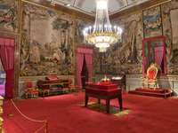 Madrid Royal Palace Crown Room