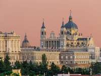 Cattedrale Almudena del palazzo reale di Madrid