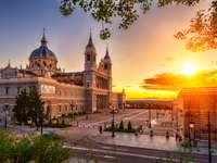 Catedral do Palácio Real de Madrid Almudena