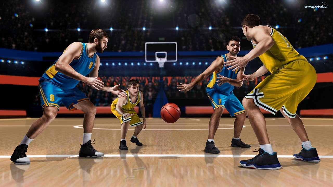 basquetebol quebra-cabeça online